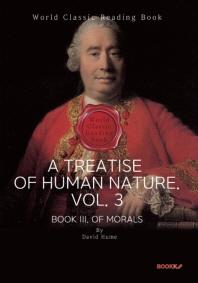 인간 본성에 관한 논고. 3부 (데이비드 흄) : A Treatise of Human Nature. Vol. 3 (영문판)
