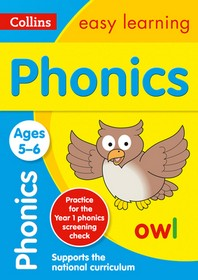 Collins Easy Learning Age 5-7 -- Phonics Ages 5-6