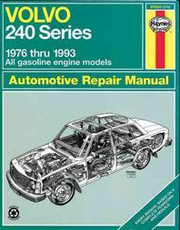 Volvo 240 Series - 1976 Thru 1993 - All Gasoline Engine Models