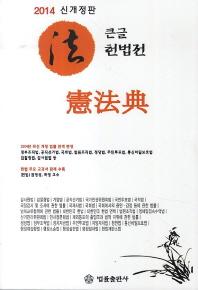 큰글 헌법전(2014)