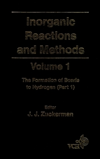 Inorganic Reactions and Methods, The Formation of Bonds to Hydrogen (Part 1)