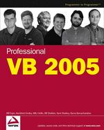 Professional VB 2005 (Programmer to Programmer)