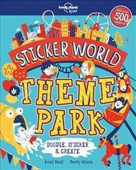 Sticker World - Theme Park 1ed -Anglais-