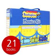 Scholastic Reading Line Phonics Kit (21 Books + 1 CD) (세이펜 미포함)