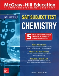 McGraw-Hill Education SAT Subject Test Chemistry, 5/E(Paperback)