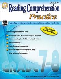 Reading Comprehension Practice, Grades 7-8