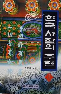 한국 사찰의 주련. 1