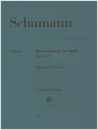 슈만/피아노 소나타 f# 단조 Op. 11(337)