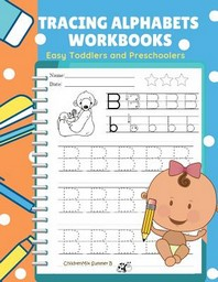 Tracing Alphabets Workbooks Easy Toddlers and Preschoolers