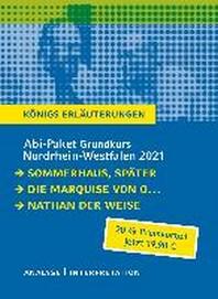 Abitur-Paket Nordrhein-Westfalen 2021. Deutsch Grundkurs - Koenigs Erlaeuterungen