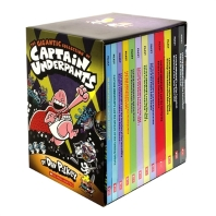 The Gigantic Collection of Captain Underpants (Book #1~12)