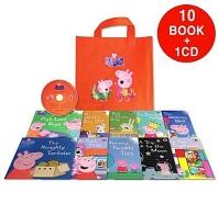 페파피그 Peppa Pig : Orange Bag [10 books & 1 CD]