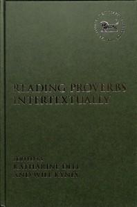 Reading Proverbs Intertextually