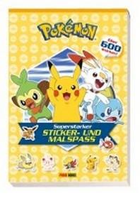 Pokemon: Superstarker Sticker- und Malspass