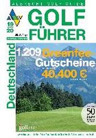 Albrecht Golf Fuehrer Deutschland 19/20 inklusive Gutscheinbuch