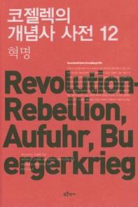 코젤렉의 개념사 사전. 12: 혁명
