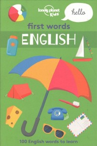 Lonely Planet First Words - English