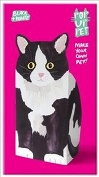 Pop Up Pet Black & White Cat