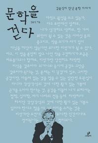 문학을 걷다_김윤식이 만난 문학 이야기
