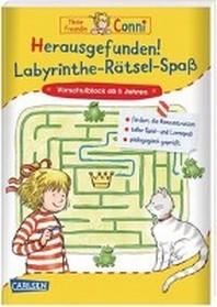 Conni Gelbe Reihe: Herausgefunden! Labyrinthe-Raetsel-Spass
