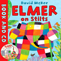 Elmer on Stilts (BOOK+CD)