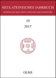 Neulateinisches Jahrbuch Band 19 / 2017