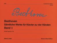 베토벤 네 손을 위한 피아노 작품 총집 2(빈원전판)