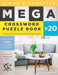 Simon & Schuster Mega Crossword Puzzle Book #20, Volume 20