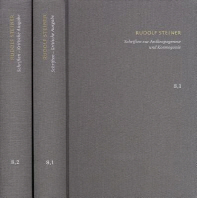 Rudolf Steiner, Schriften Zur Anthropogenese Und Kosmogonie
