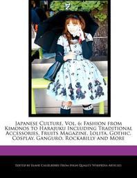 Japanese Culture, Vol. 6