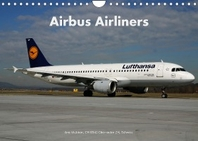 Airbus Airliners (Wandkalender 2022 DIN A4 quer)