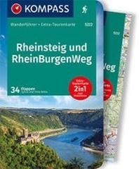 KOMPASS Wanderfuehrer Rheinsteig RheinBurgenWeg
