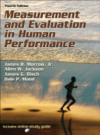 Measurement and Evaluation in Human Performance [With Access Code]
