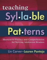Teaching Syllable Patterns