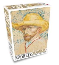 세계명화 직소퍼즐 150pcs: 밀집모자를 쓴 자화상