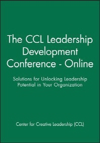 The CCL Leadership Development Conference - Online