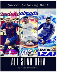 All Star Uefa Coloring Book