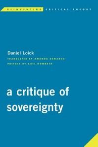 A Critique of Sovereignty