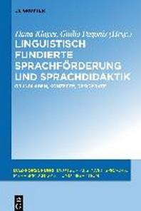 Linguistisch Fundierte Sprachfrderung Und Sprachdidaktik