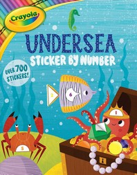 Crayola Undersea Sticker by Number