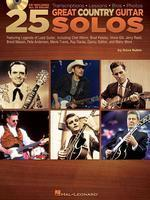 25 Great Country Guitar Solos [With CD (Audio)]