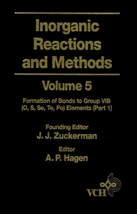 Inorganic Reactions and Methods, The Formation of Bonds to Group VIB (O, S, Se, Te, Po) Elements (Pa
