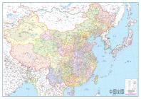 중국전도(코팅표구)(대국전지1매)(102*72cm)