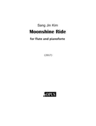Moonshine Ride for flute and pianoforte
