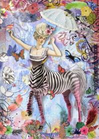 Christian LaCroix Zebra Girl Journal
