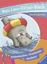 Mein Lern-Raetsel-Block Kindergarten