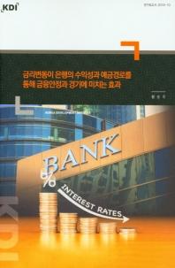 금리변동이 은행의 수익성과 예금경로를 통해 금융안정과 경기에 미치는 효과