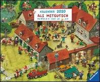 Ali Mitgutsch 2020 - Wimmelbilder - DUMONT Kinder-Kalender