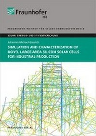 Simulation and Characterization of Novel Large-Area Silicon Solar Cells for Industrial Production
