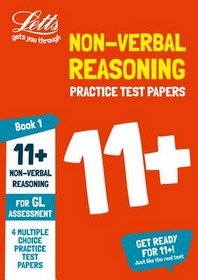 Letts 11+ Success -- 11+ Non-Verbal Reasoning Practice Test Papers - Multiple-Choice